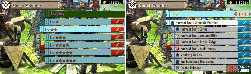monster hunter 4u key quest pdf