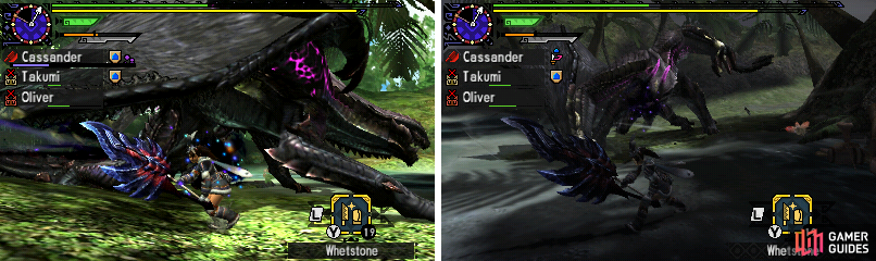 Gore Magala's two rage mode phases