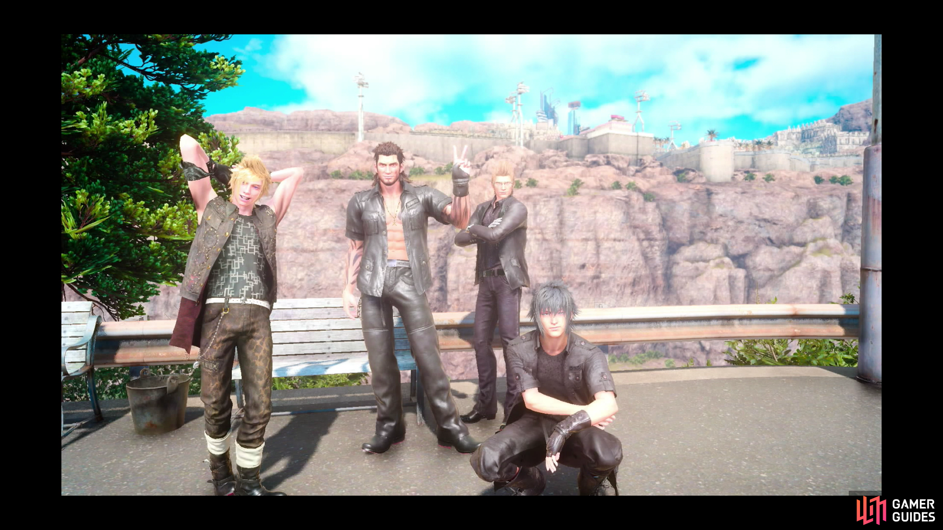 Photo ops duscae sidequests final fantasy xv for Final fantasy 15 fishing guide