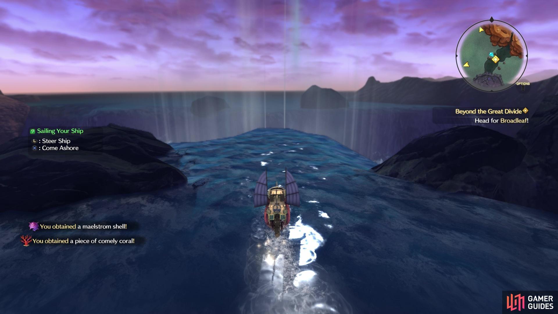 Ni No Kuni's Ocean Rift