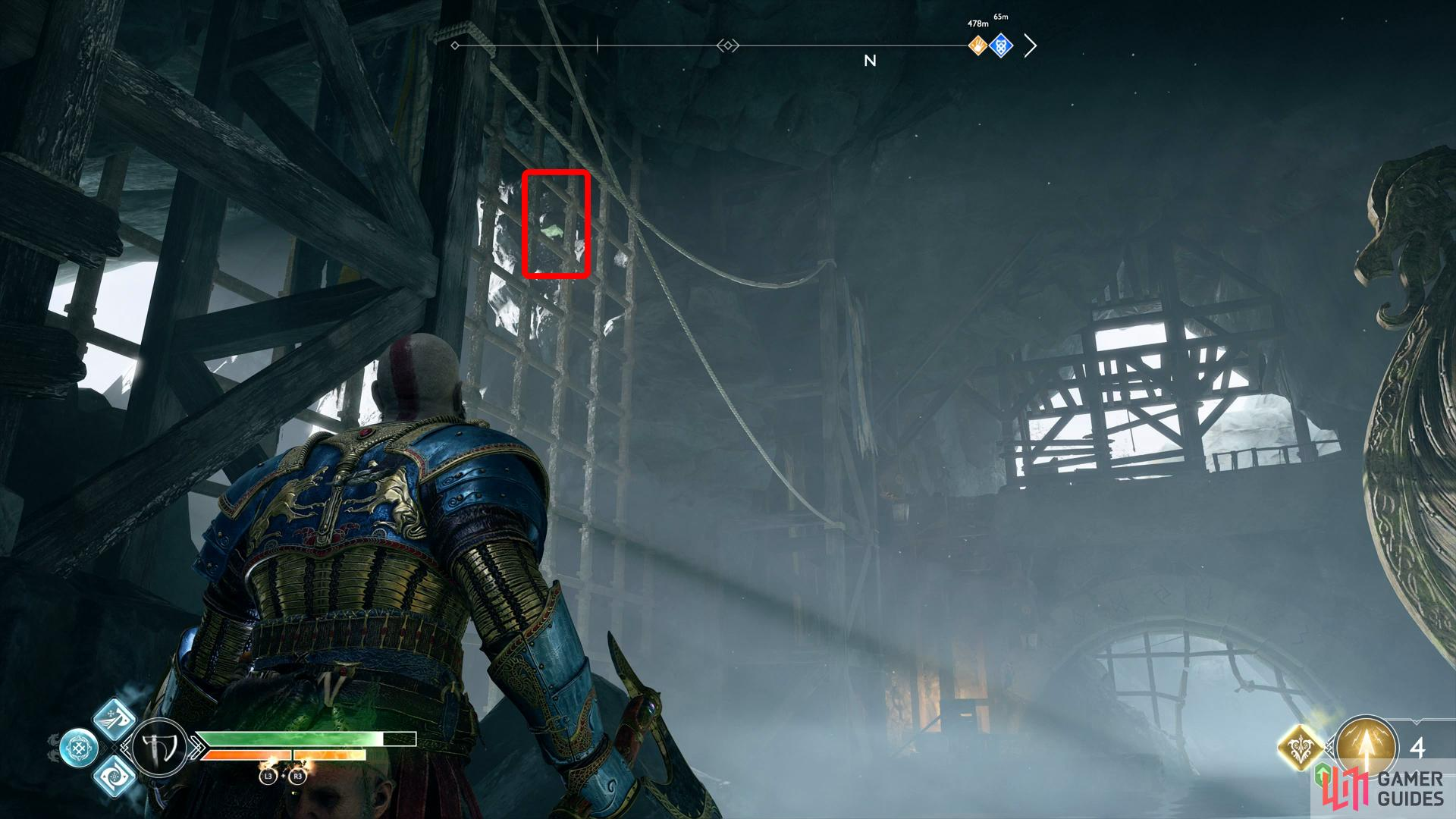 Search the gate opposite the Reaver Ship to find the last Raven here.