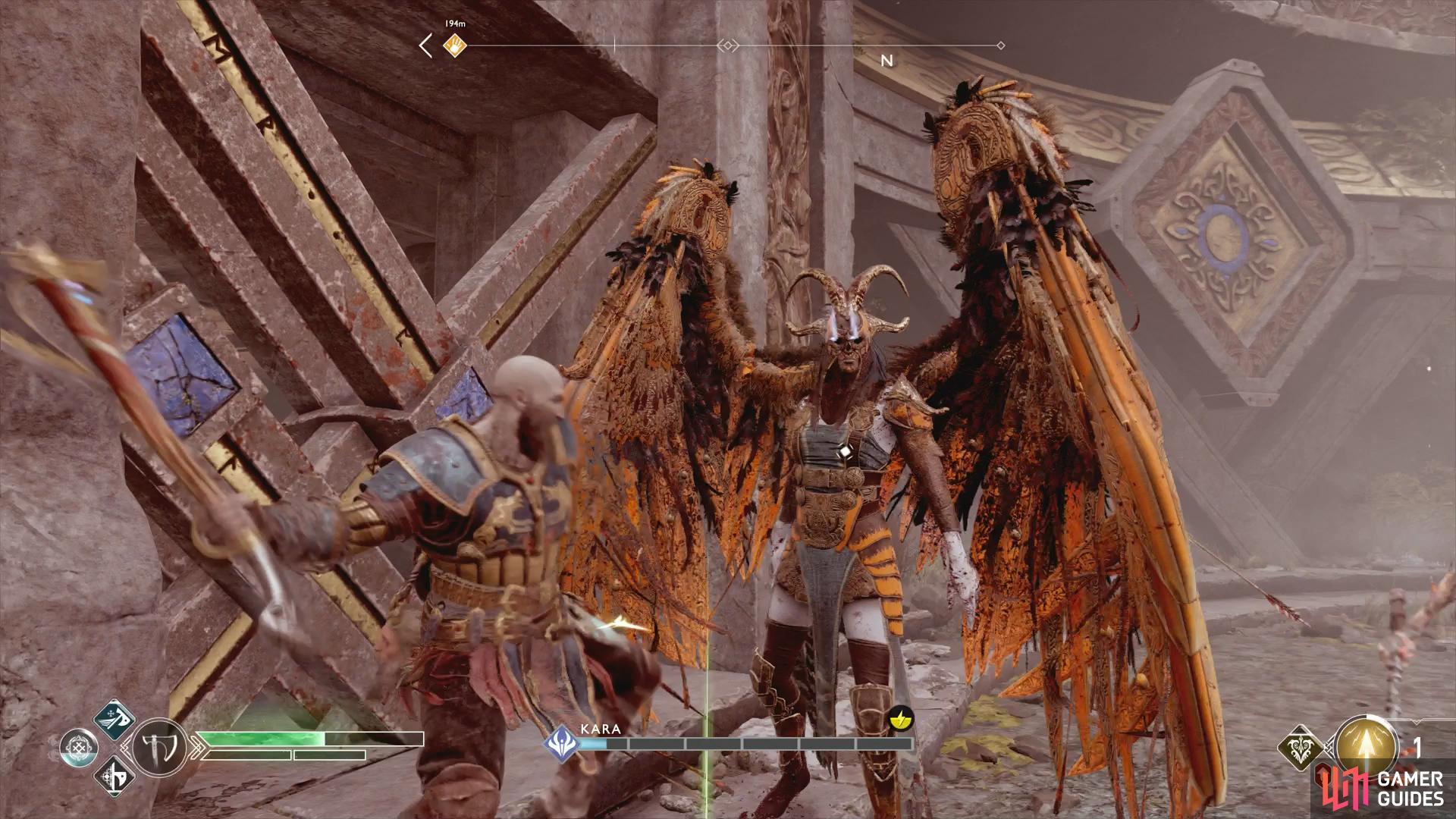 God of war valkyrie kara | God of War Hidden Chambers & Valkyrie