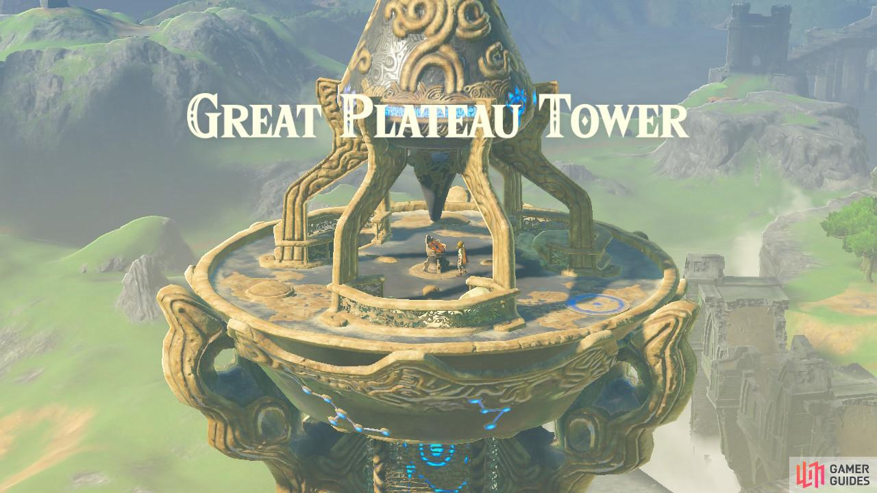 This is the first Tower of the game.