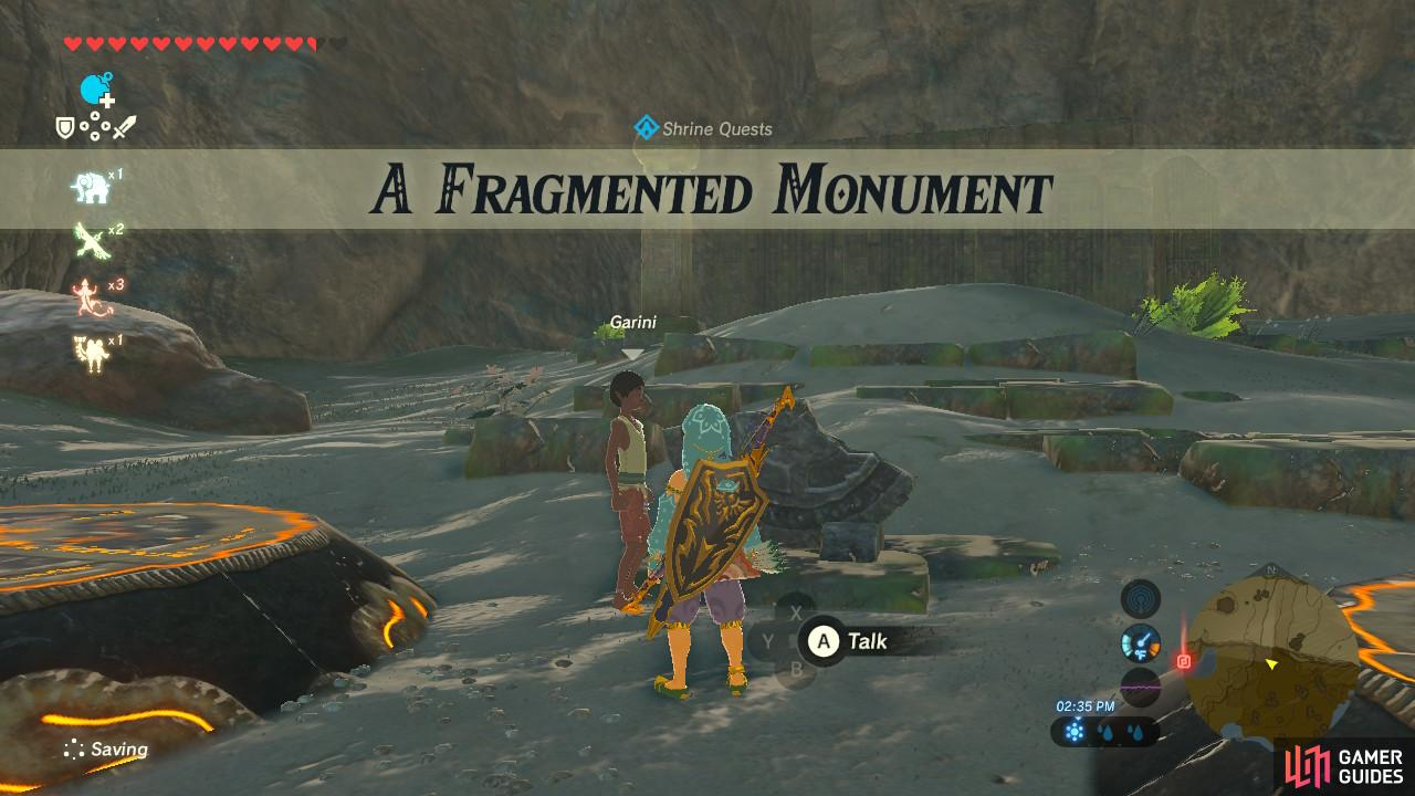This Shrine Quest is another scavenger hunt sort of quest