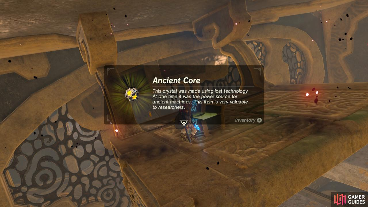 Ancient Cores are exceedingly valuable