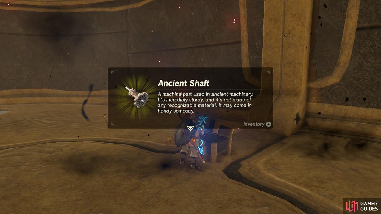 The Ancient Shaft is a little less valuable but still worth keeping