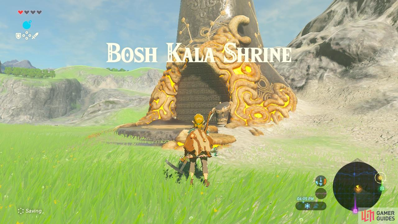 Bosh Kala Shrine is close to the Great Plateau
