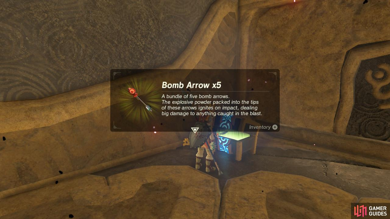 Save these Bomb Arrows for the end of the dungeon