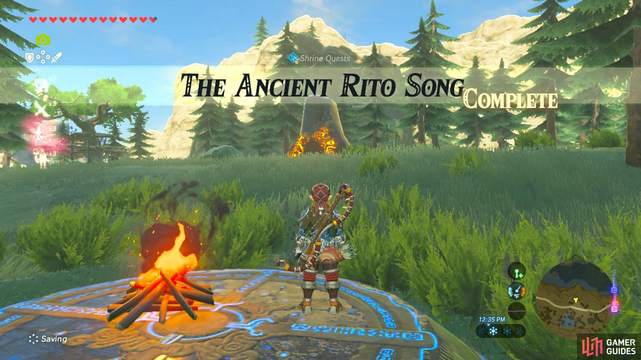 The Legend Of Zelda Breath Of The Wild Quests Shrine Quests