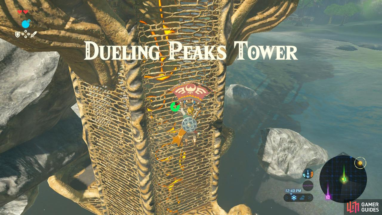 Paragliding to it from the nearby hill is the easiest way to ascend this tower.