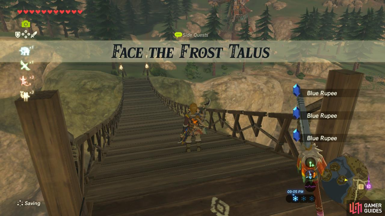 "This sidequest is similar to ""The Road to Respect"" and involves another kind of Talus"
