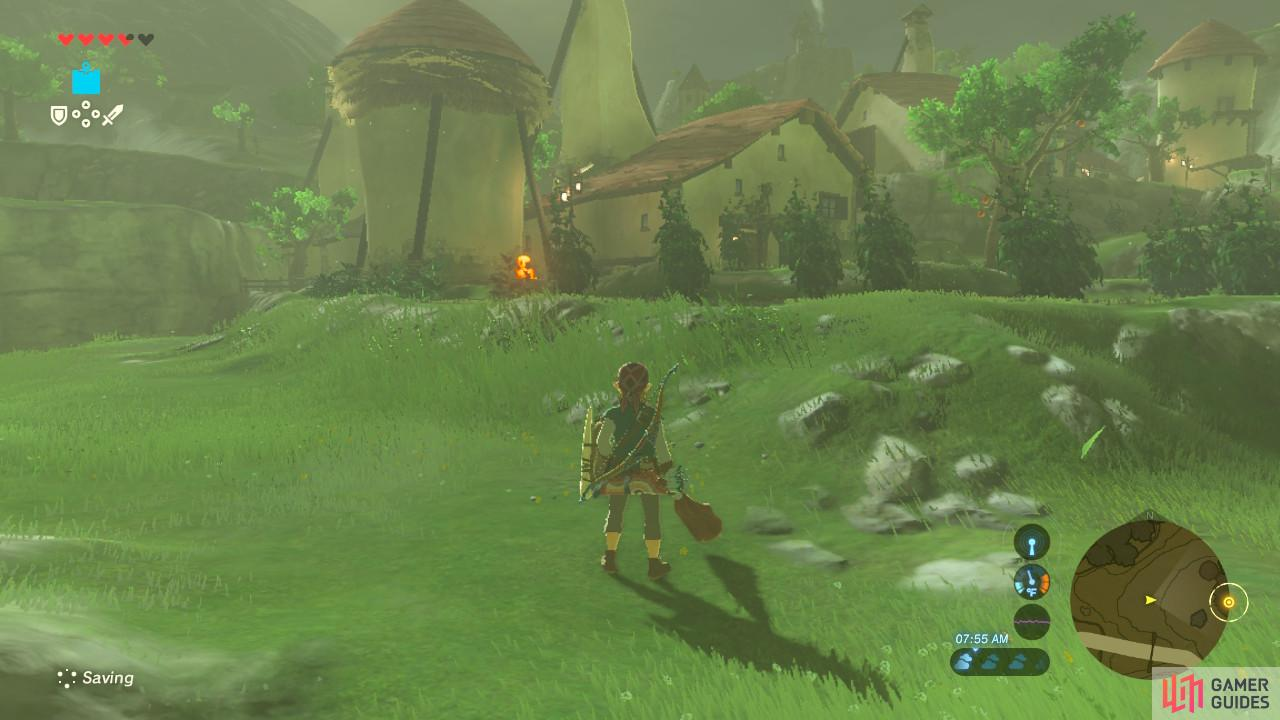 The village was mostly unaffected by Calamity Ganon.