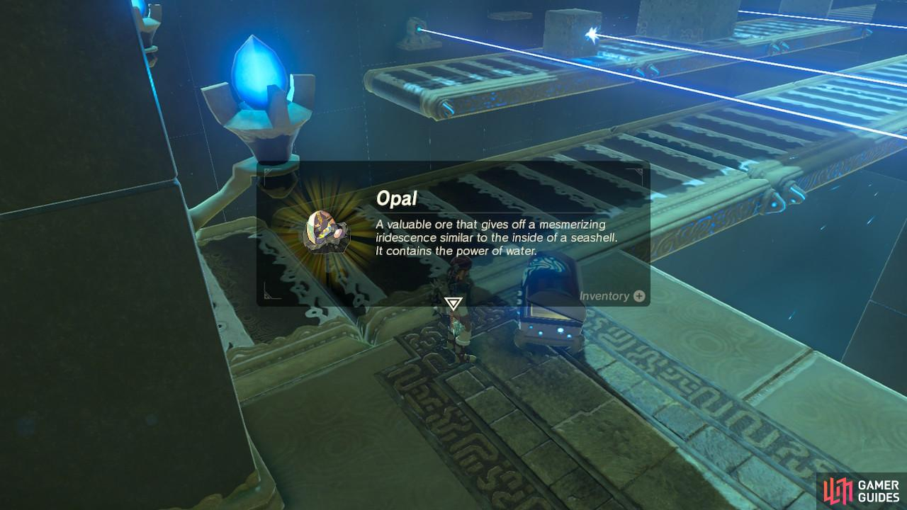 You can sell Opals for a lot of rupees
