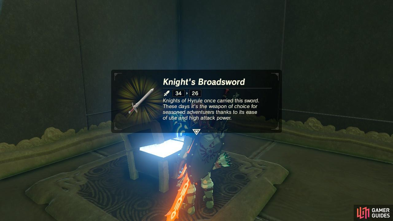 The Knight's Broadsword is a good, all-purpose weapon