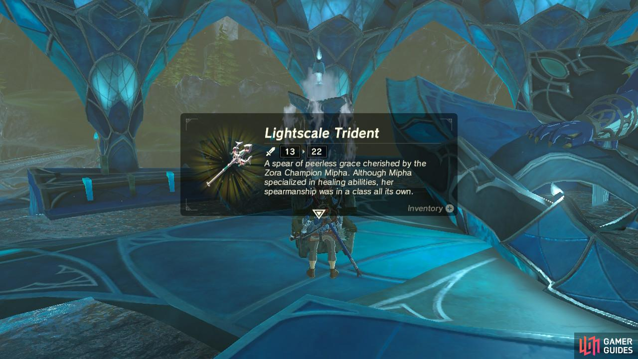 Save the Lightscale Trident for more difficult fights later in the game