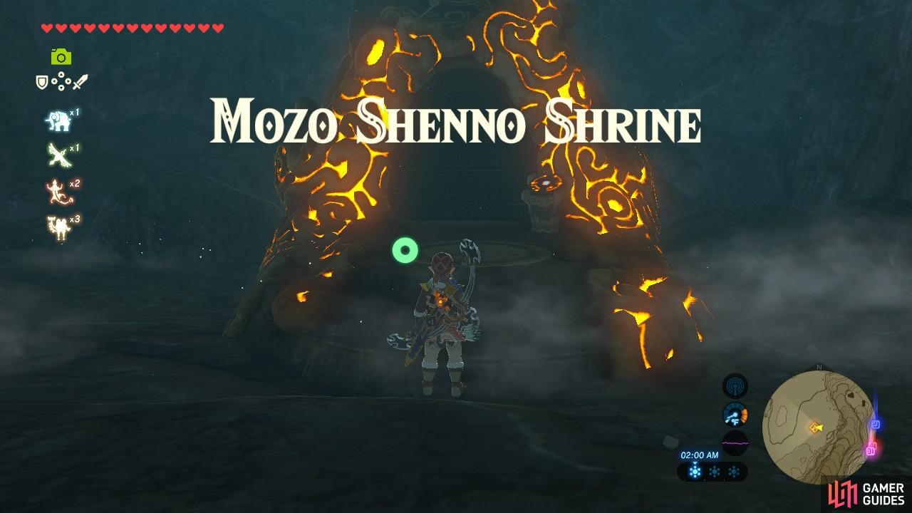 This Shrine is actually underground