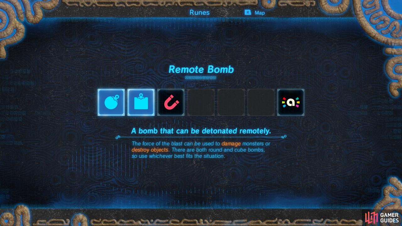 You will be able to create two types of bombs, spherical and cube!
