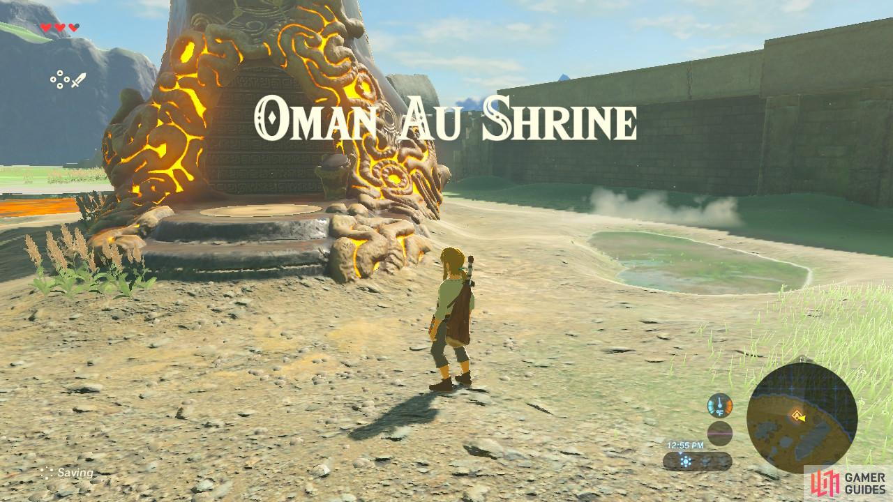 This is the first shrine of the game