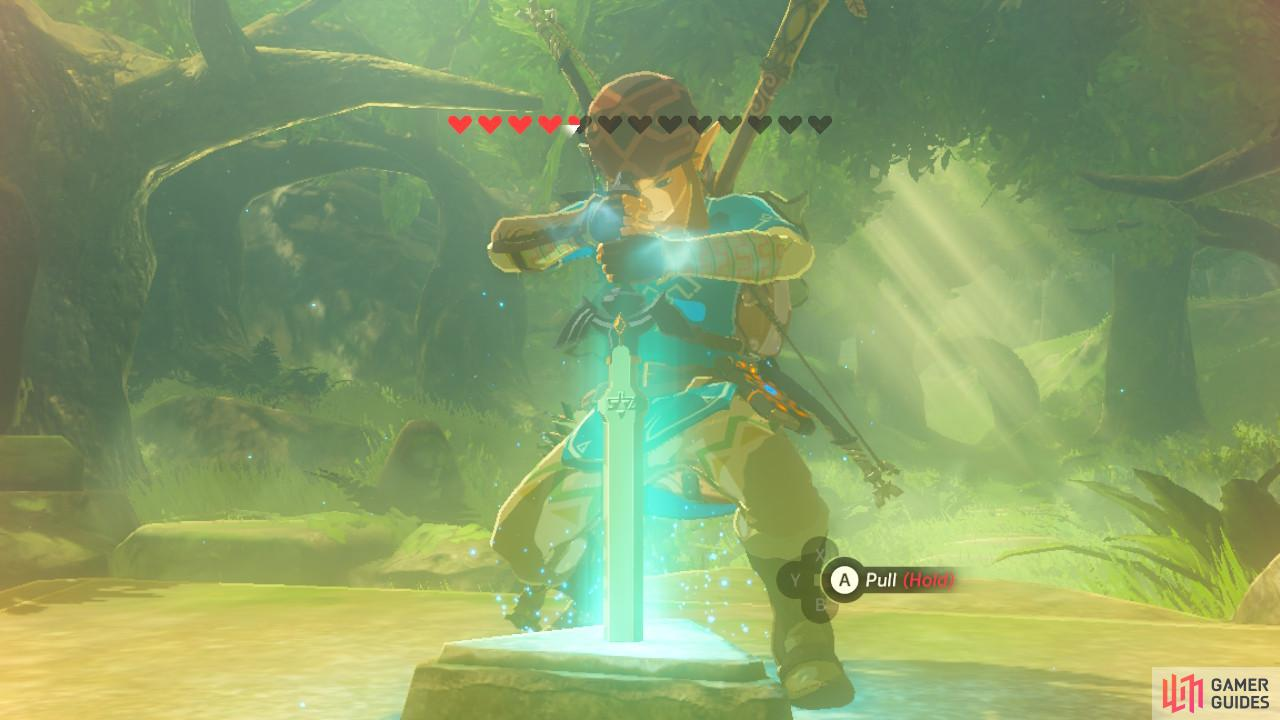 Breath Of The Wild The Heros Sword — Available Space Miami