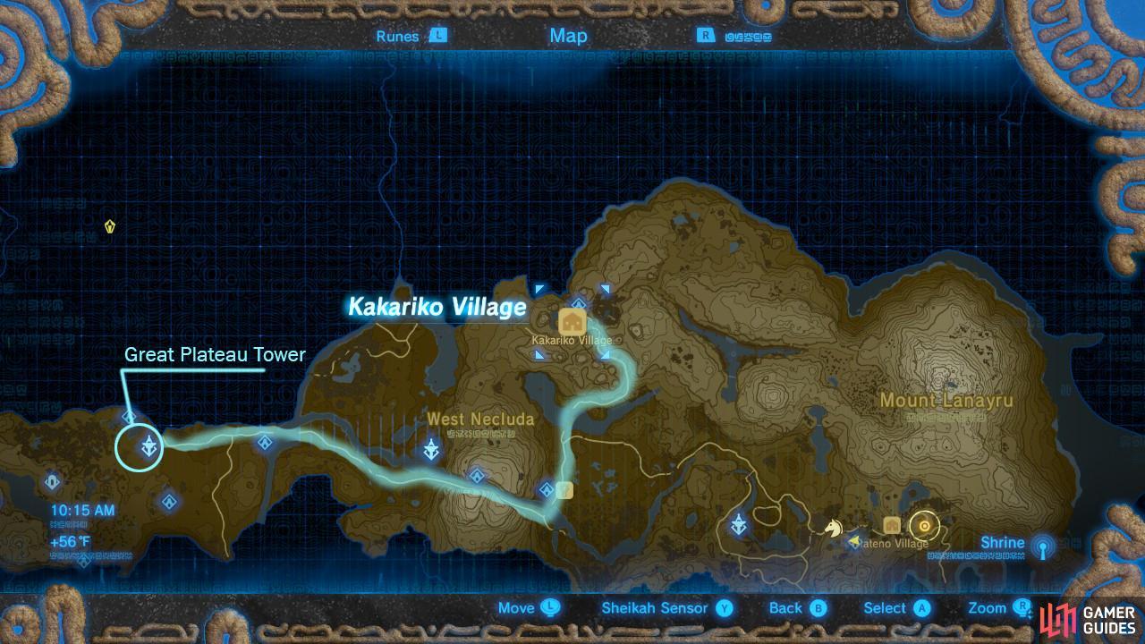 Image Result For Legend Of Zelda Walkthrough Map