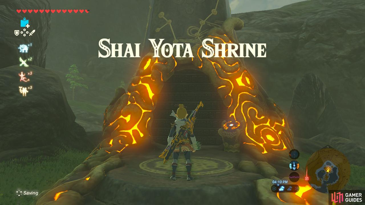 "This Shrine requires you complete the Shrine Quest ""Master of the Wind"""