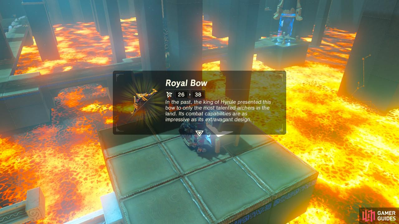 The Royal Bow is a super good bow