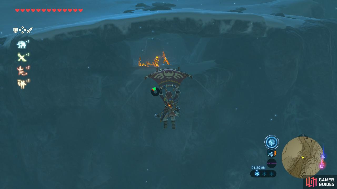 This entrance is the only way to access the Shrine