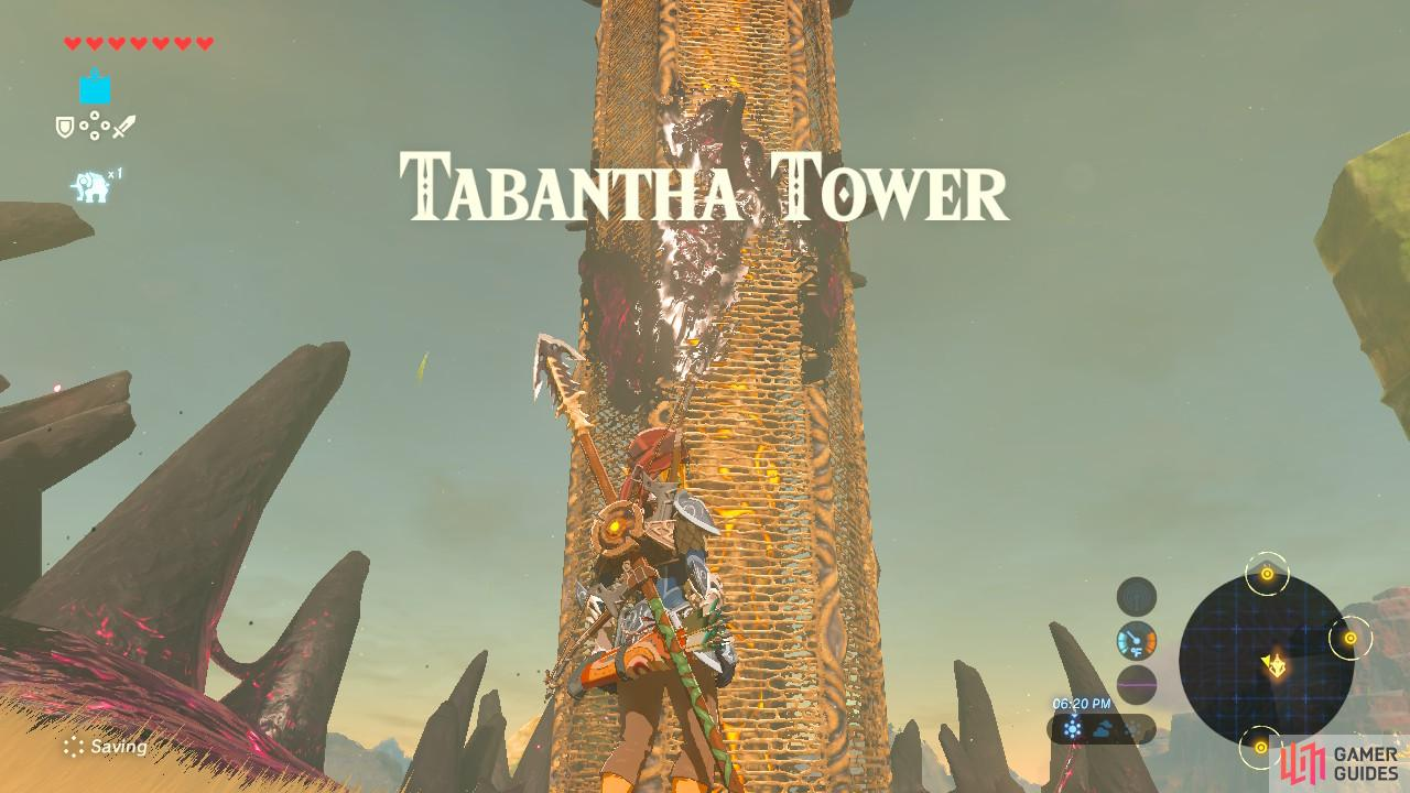 The Tabantha Tower has been overtaken by Ganon
