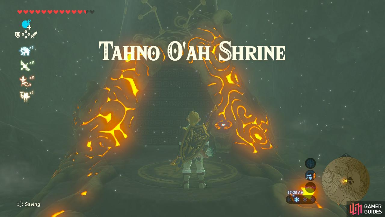 "Take the Shrine Quest ""Secret of the Cedars"" for a hint on this Shrine"