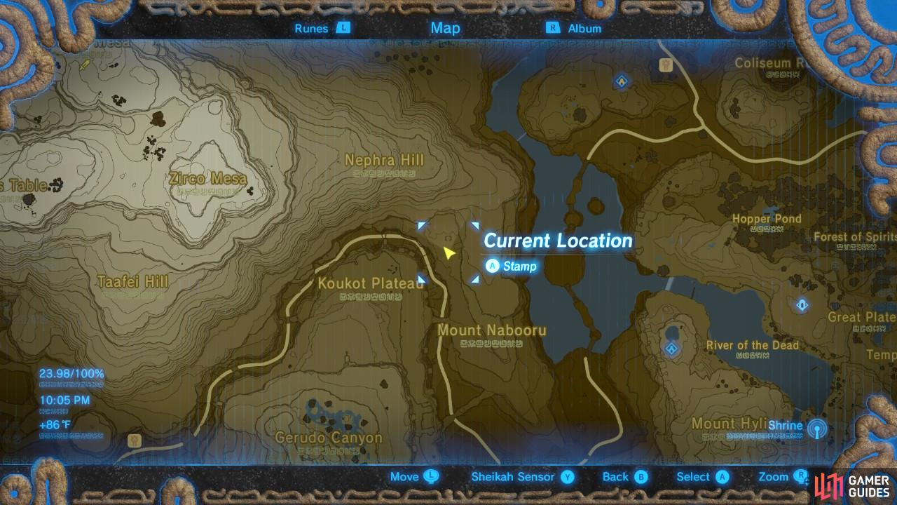 Here is the location of the Goron brothers