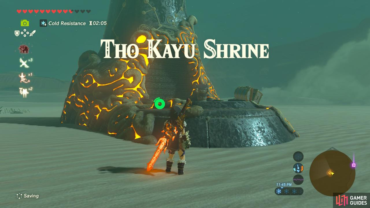 This Shrine has no Shrine Quest, but is still difficult to unlock