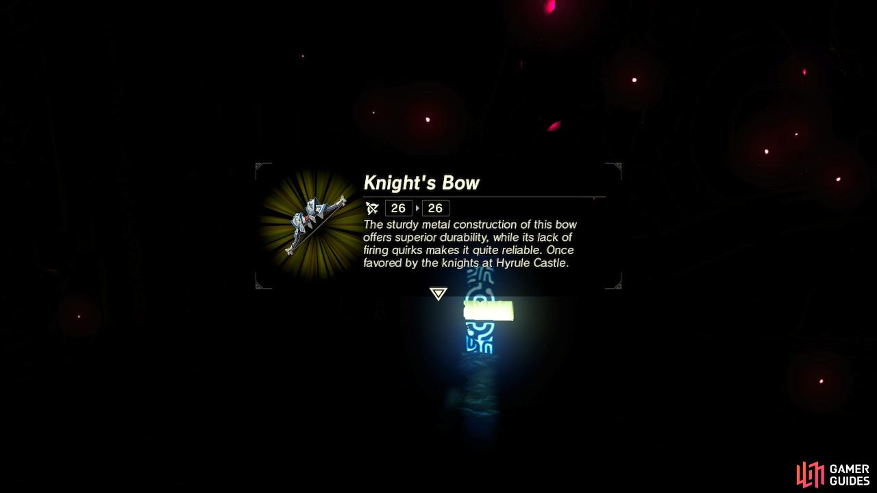 The Knight's Bow is a good quality, sturdy bow