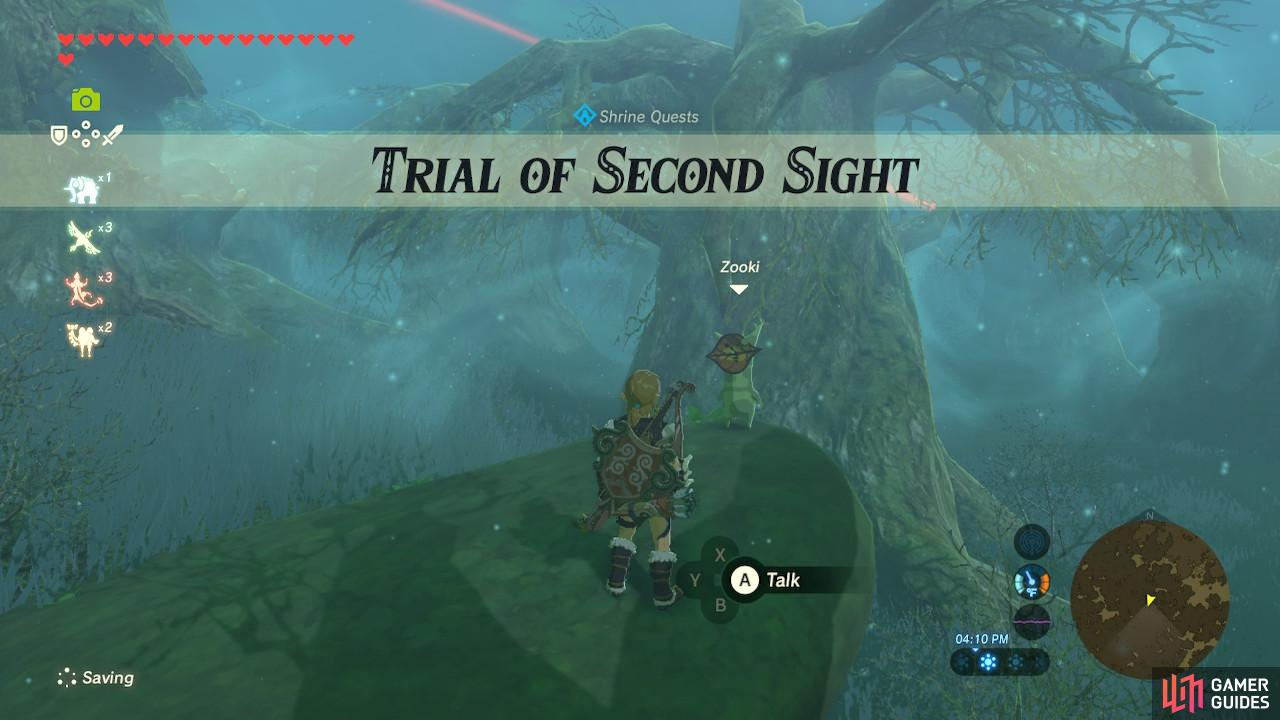 This is one of the simpler of the Korok trials
