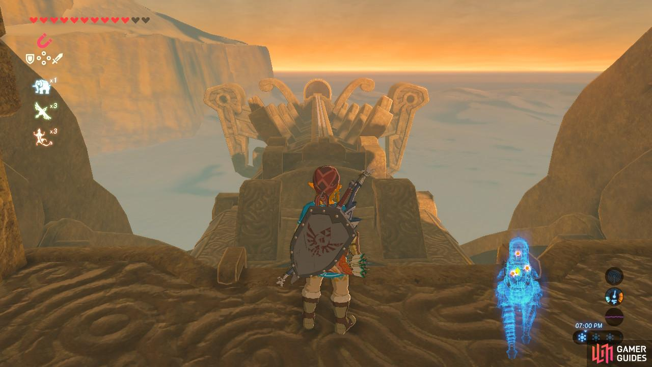 Right now the head of Vah Naboris is down because it has no power