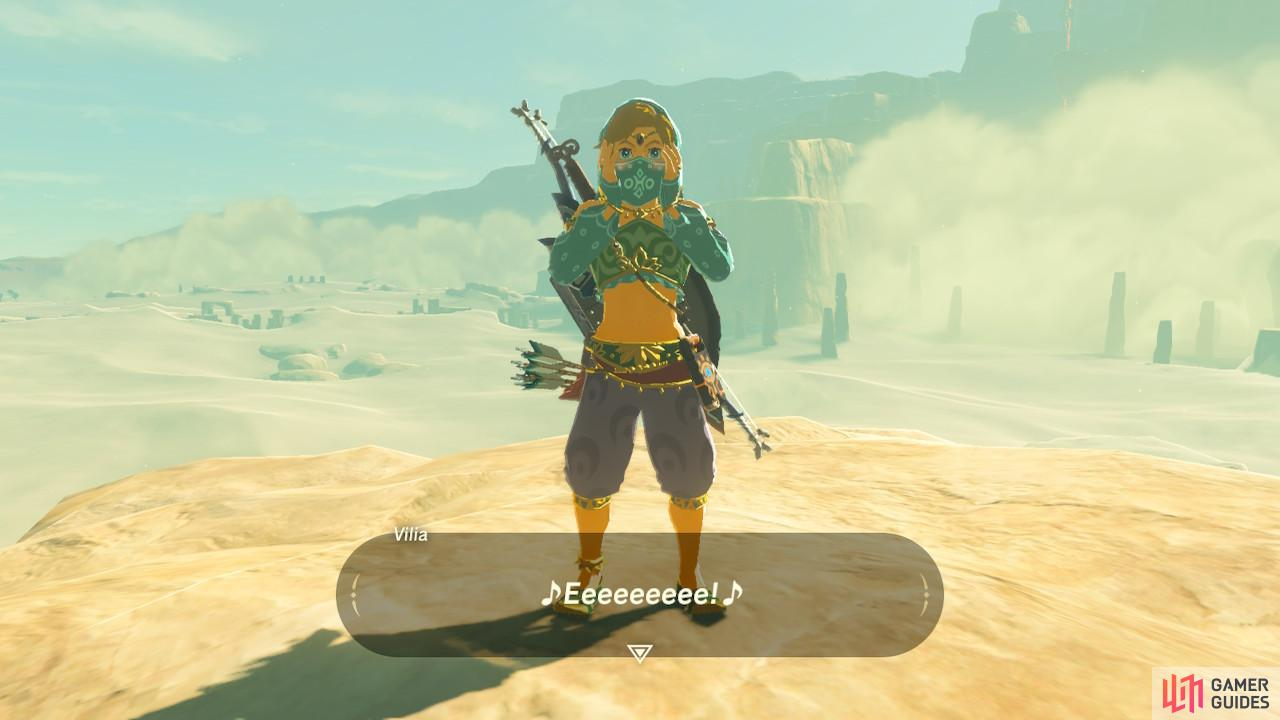 LInk pulls off this look astonishingly well