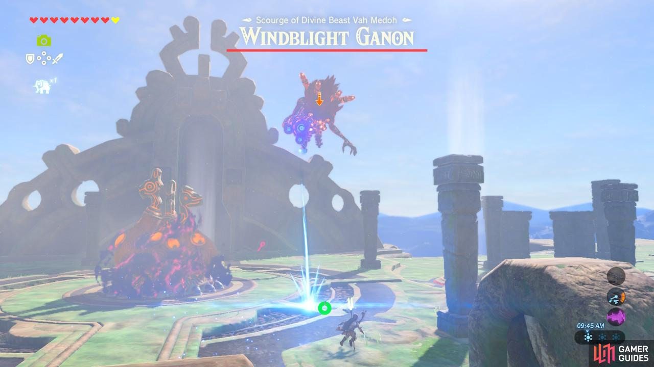 You can reflect Windblight Ganon's bullets back at it
