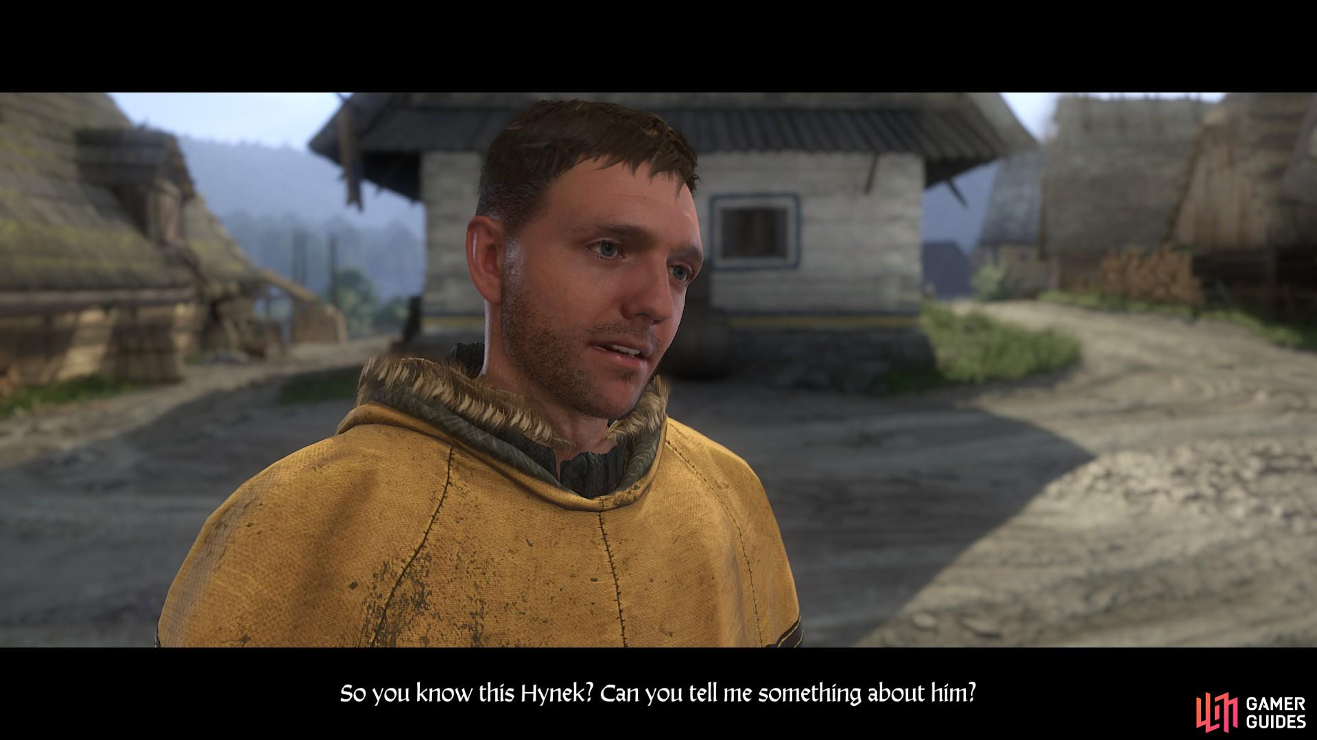 When you arrive in Ledetchko, ask anyone in the settlement if they know of Reeky.