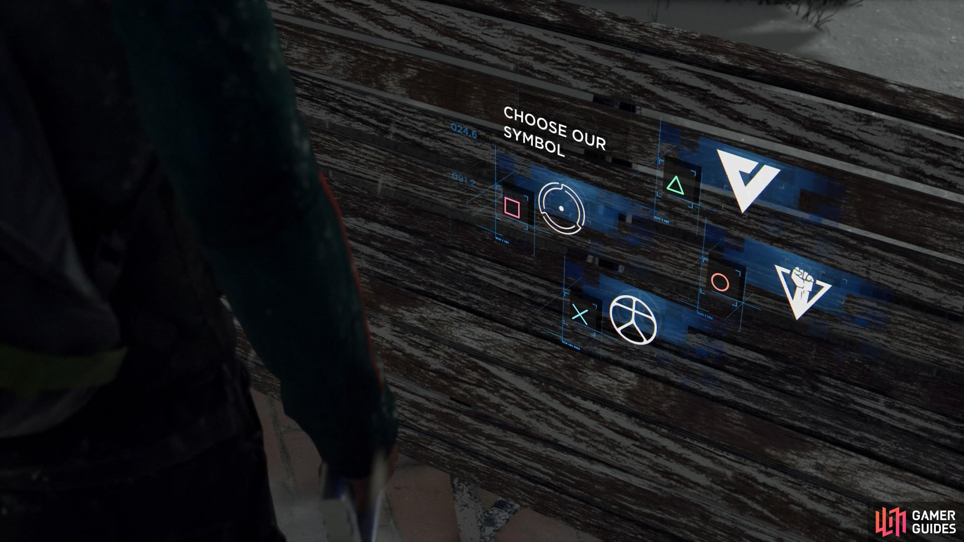 You can tag objects with a symbol of your choice