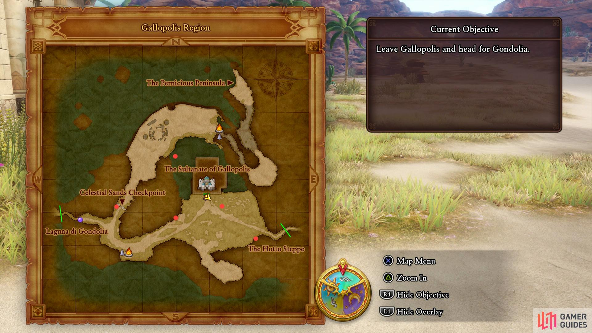 Gallopolis Region Crossbow Kid Dragon Quest Xi Echoes Of An