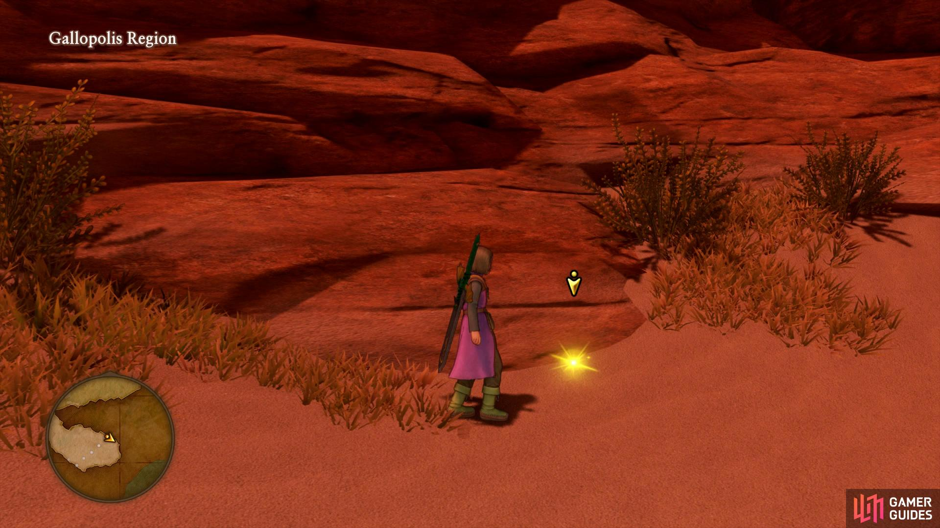 The Desert Rose can be found south of Gallopolis.
