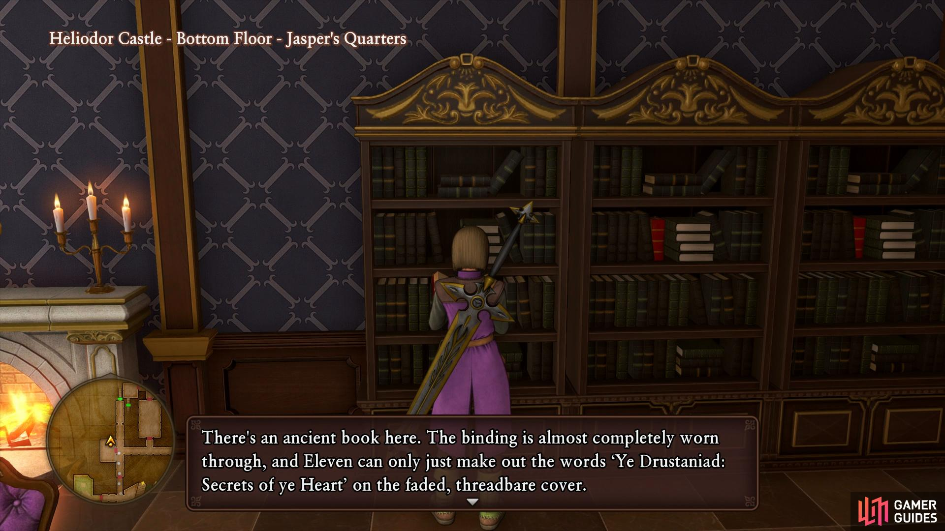 You'll find the first Tome of Quest 48 in Jasper's Quarters