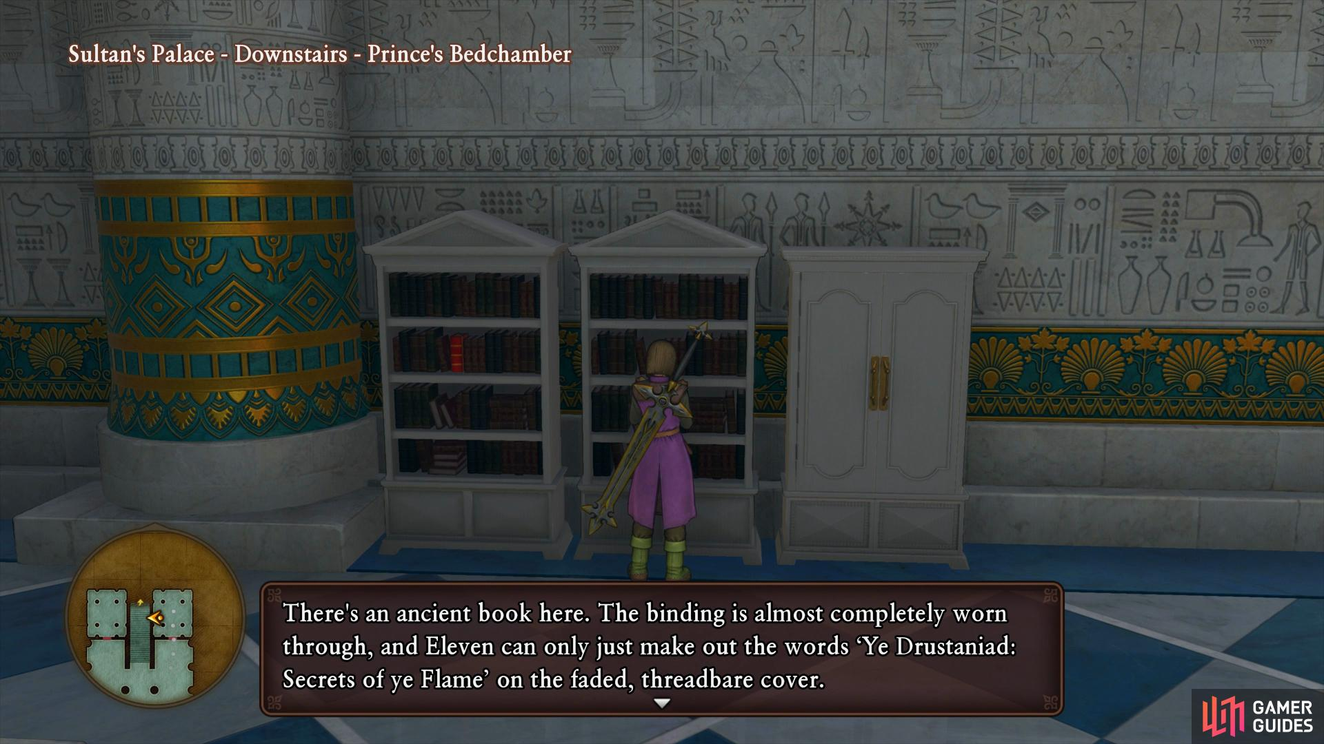 Prince Faris' Bedchamber for Tome 2