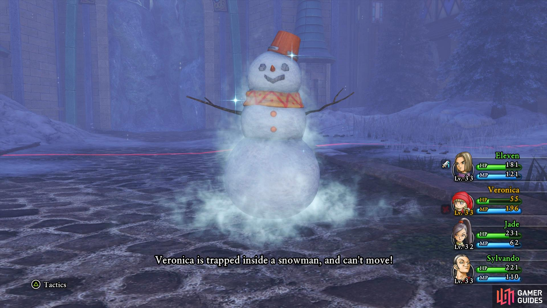 You cannot cure the Snowman effect, you'll have to ride it out