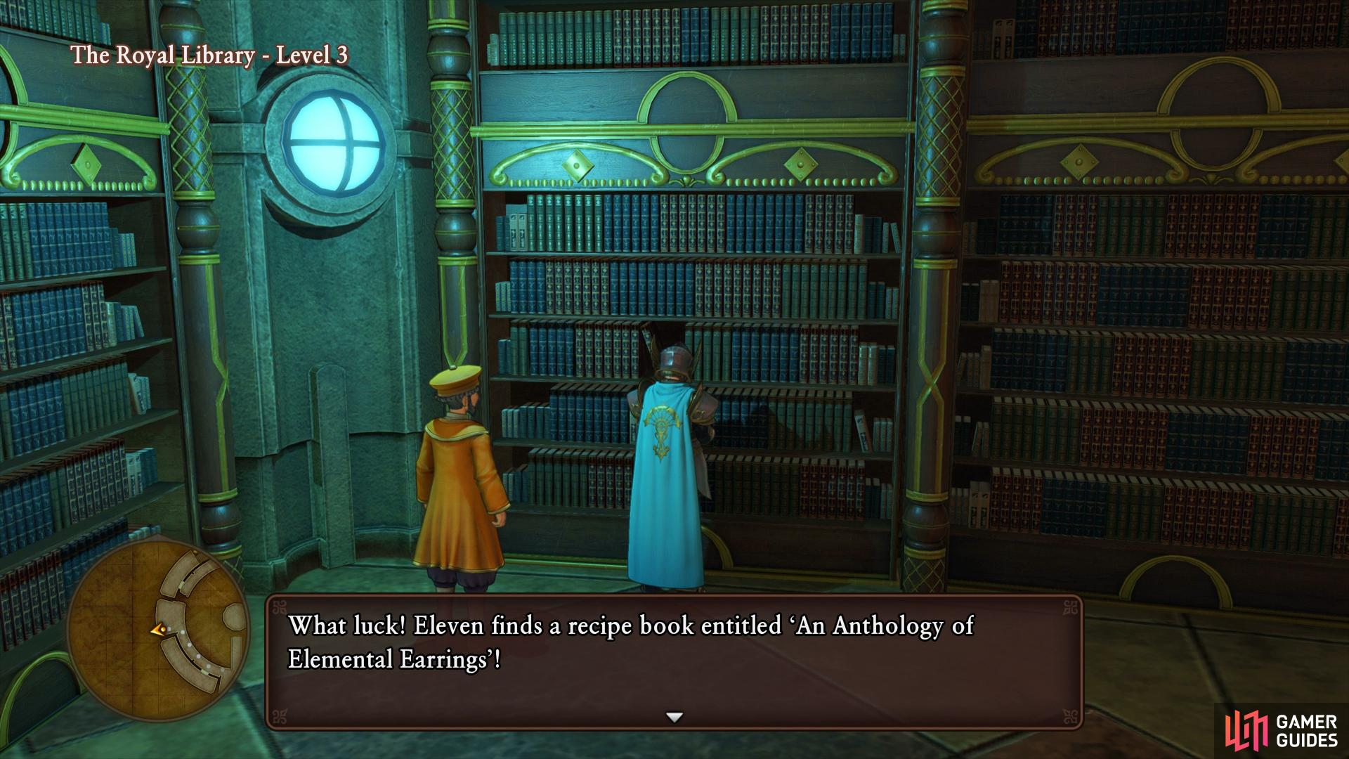 a second Recipe Book can be found on the southwest side of the Level.