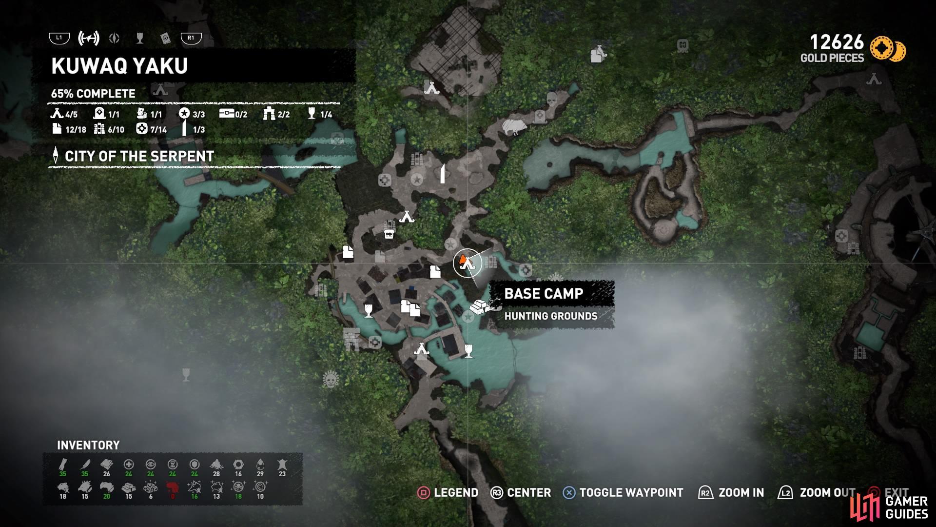 Shadow Of The Tomb Raider Walkthrough Crypts Kuwaq Yaku