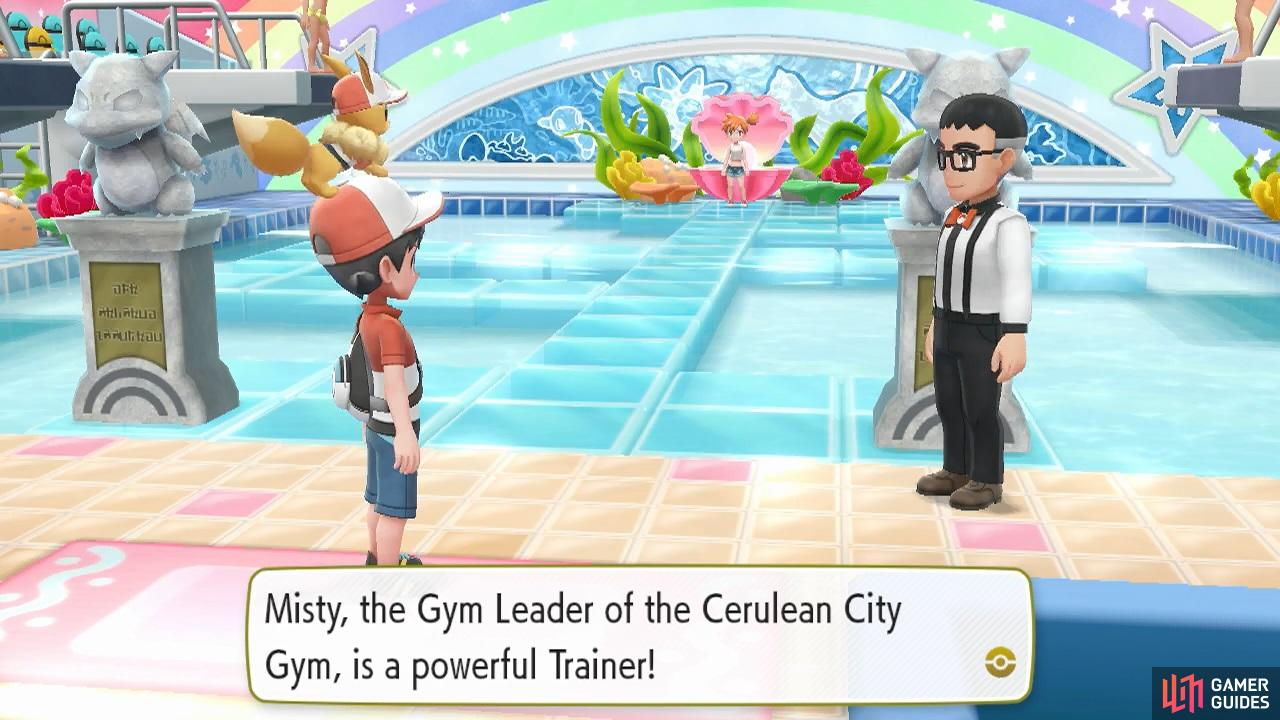 Of course the Water-type Gym is a giant swimming pool.