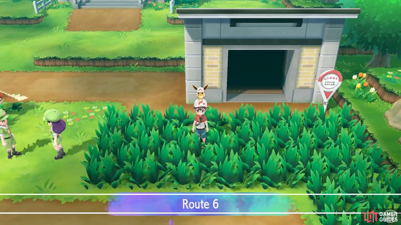 This is a nice, open route that's good for catching lots of Growlithe or Vulpix.