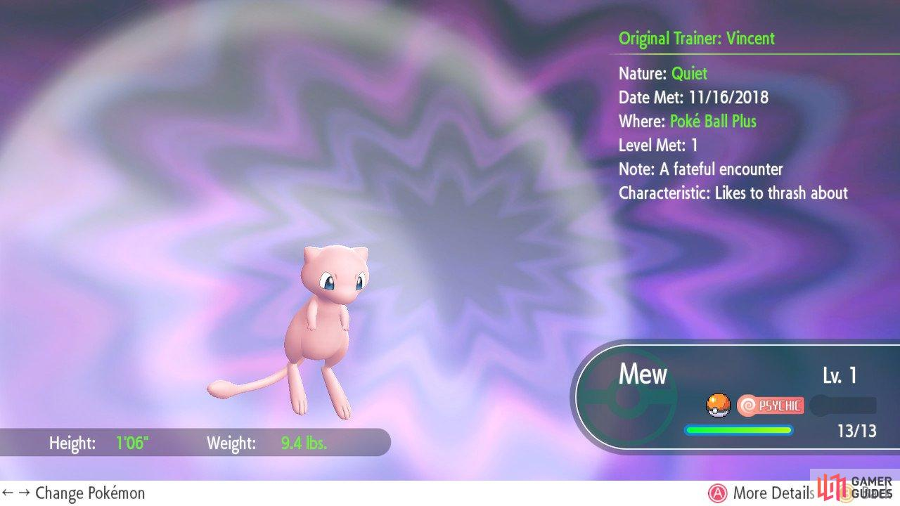 Mew is a rarity, alright.