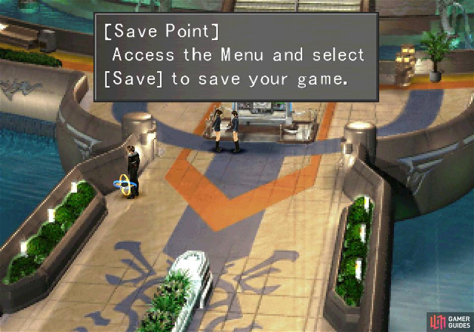 You'll also find a convenient Save Point nearby.