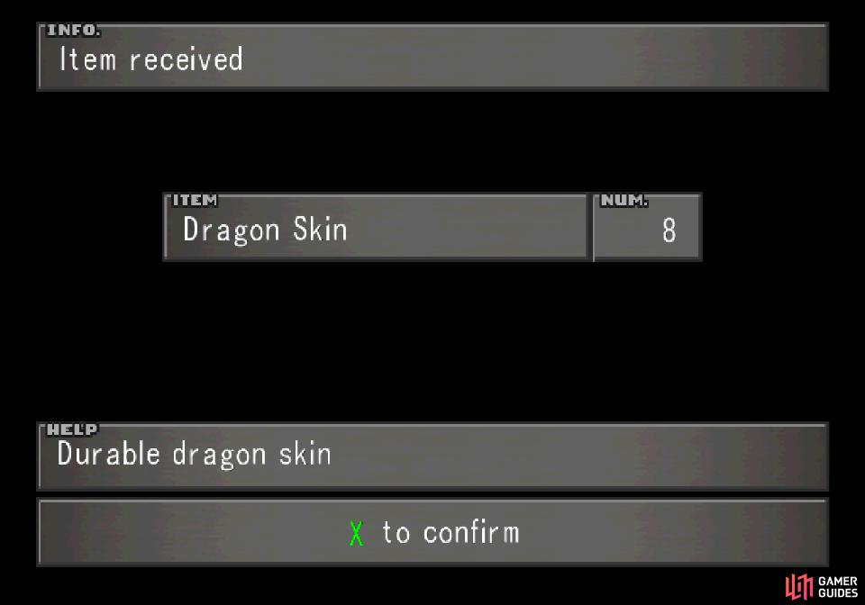 from which you may gain superior items like Dragon Skin
